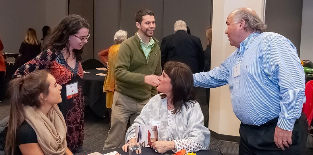 Jane Addams scholarships reception