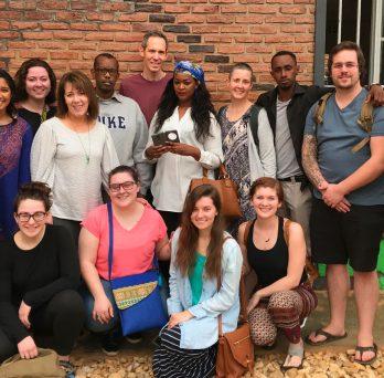 JACSW alum co-leads class in Rwanda