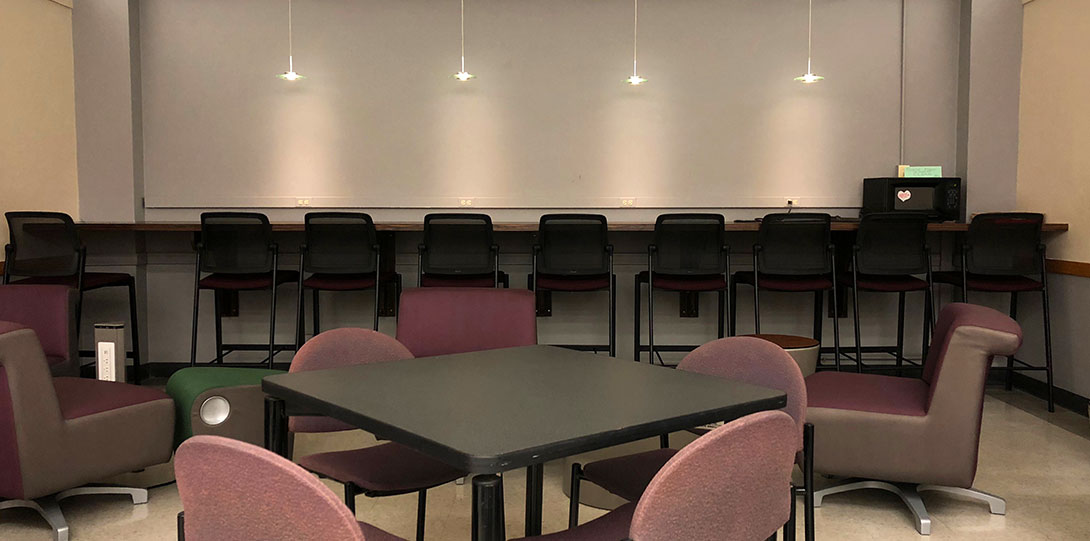Jane Addams student lounge
