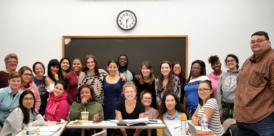 Child and Family Policy class potluck
