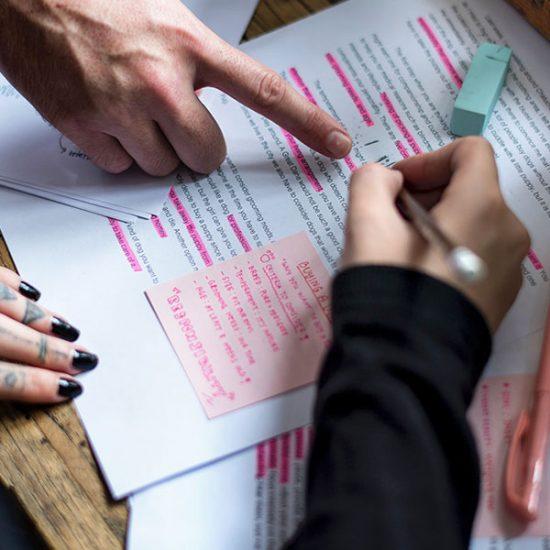 scholars editing publication