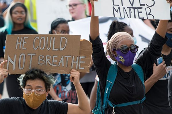 photo from BLM protest
