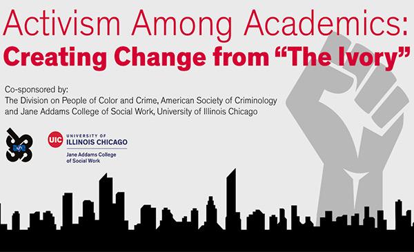 Activism Among Academics banner