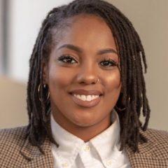 doctoral candidate Janaé Bonsu