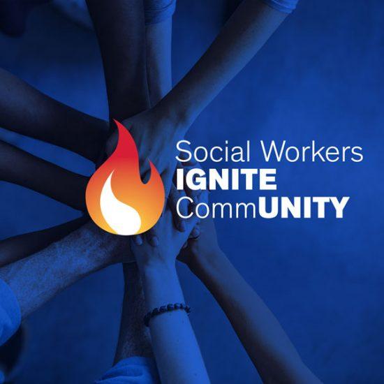 Social Workers Ignite Community logo